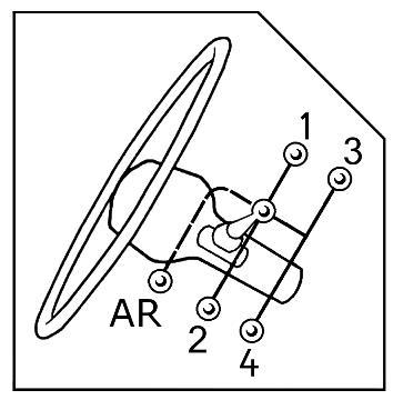 Autocollant de la grille de boite de vitesse mécanique 295 pour Frégate