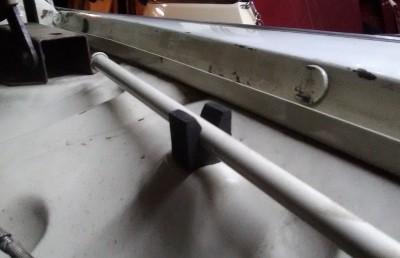 Reproduction des butées de béquille de capot pour Renault Frégate