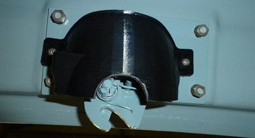 Reproduction des cache-serrure de coffre pour Renault Frégate