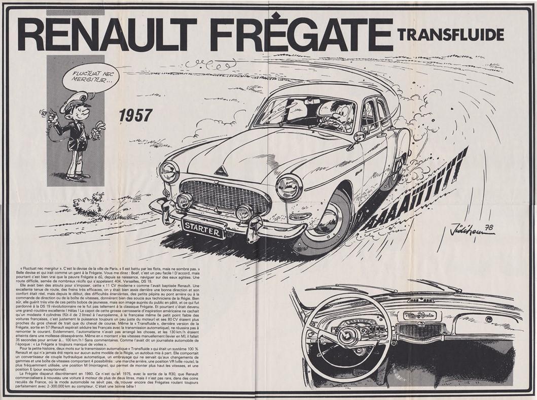 Poster Frégate Transfluide inséré dans le n° 2119 du 23/11/1978 du journal Spirou