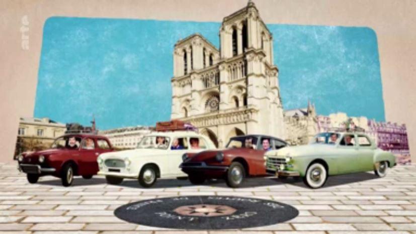 Une Frégate icone des années 50 sur Arte par le Frégate Club de France